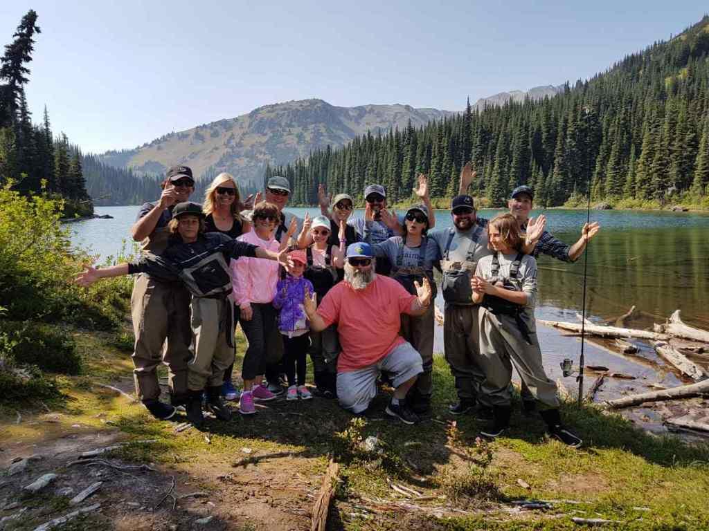 Family heli fishing trips