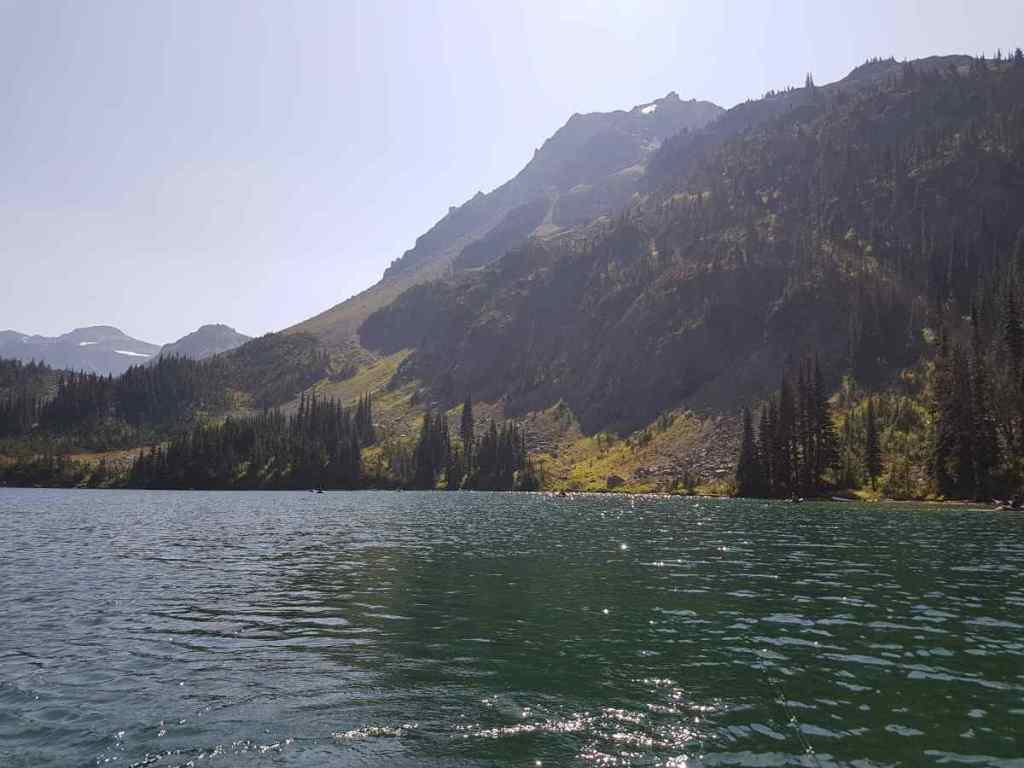 Remote fishing lake in BC