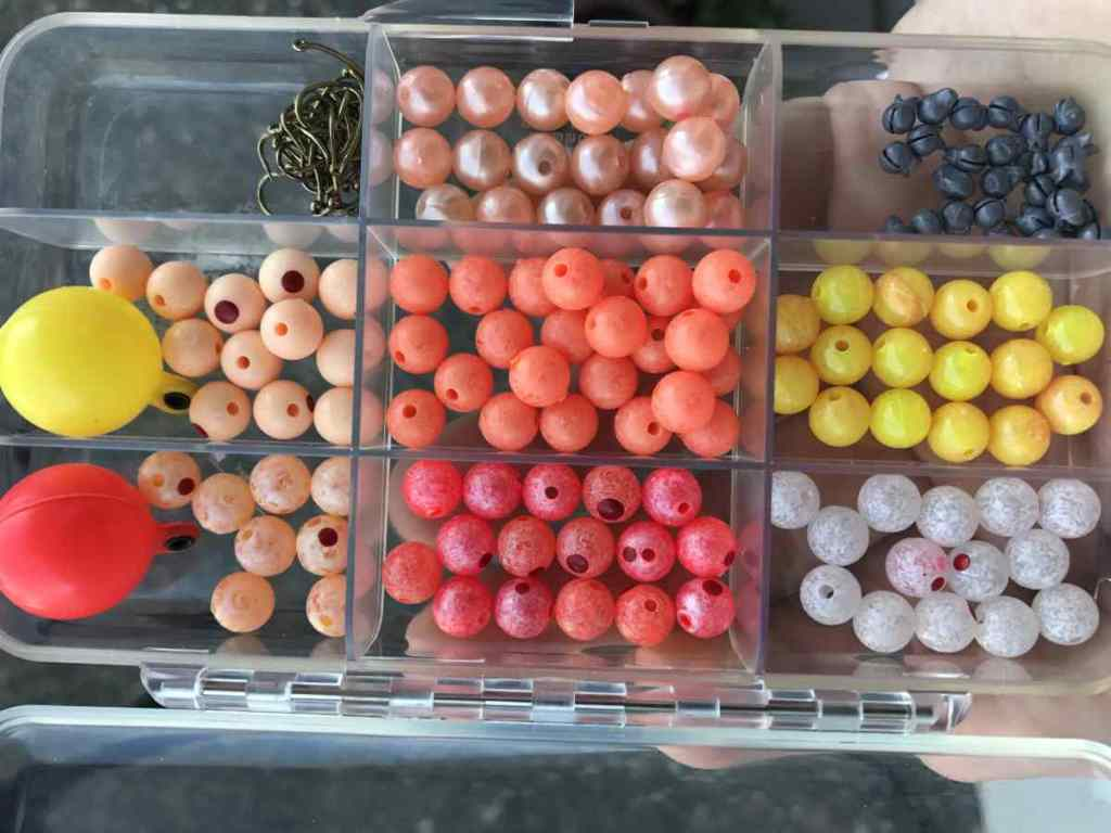 A Well Stocked Trout Bead Box