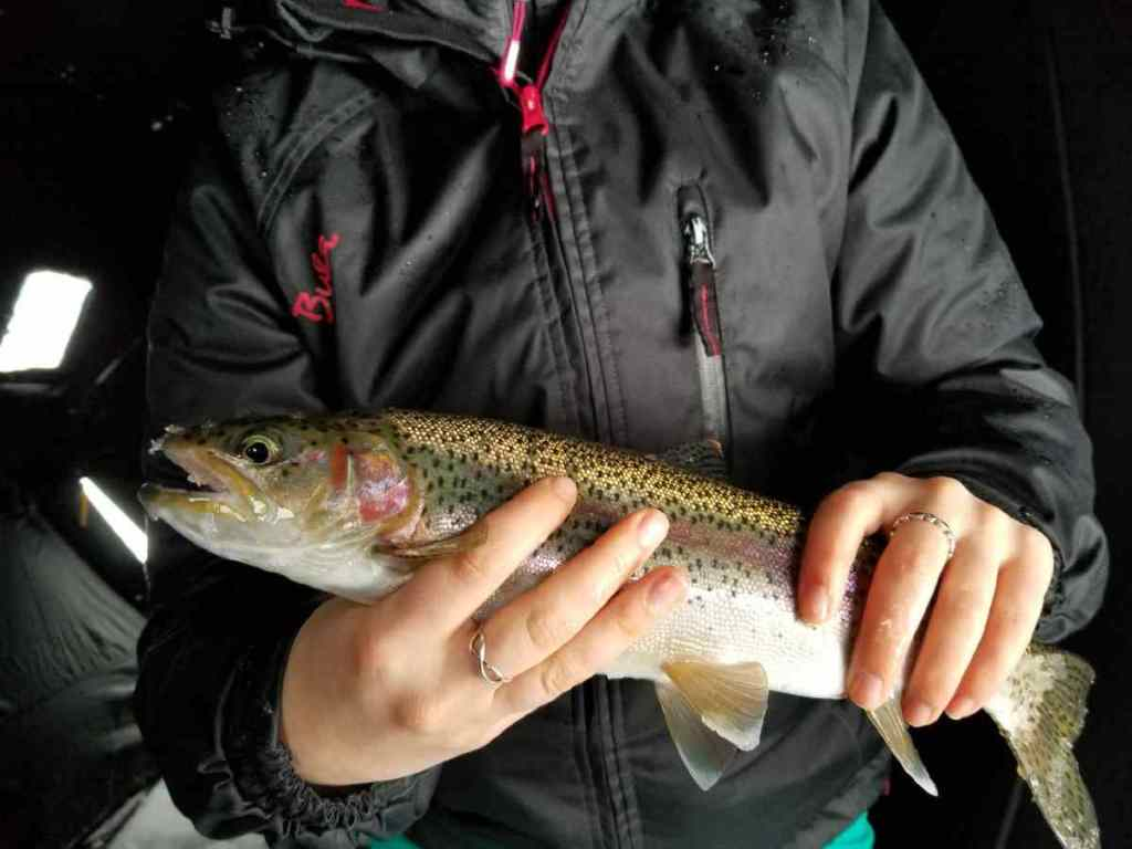 Ice fishing trips in BC
