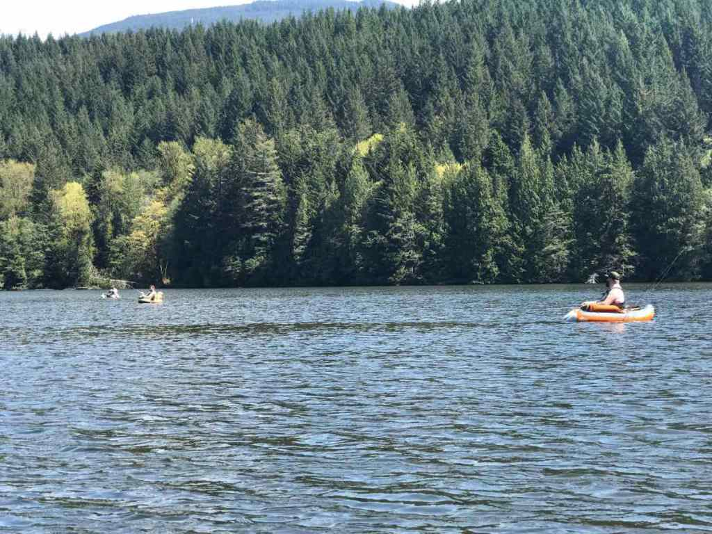 Fly Fishing Small Lakes in Whistler Squamish and Pemberton British Columbia Canada