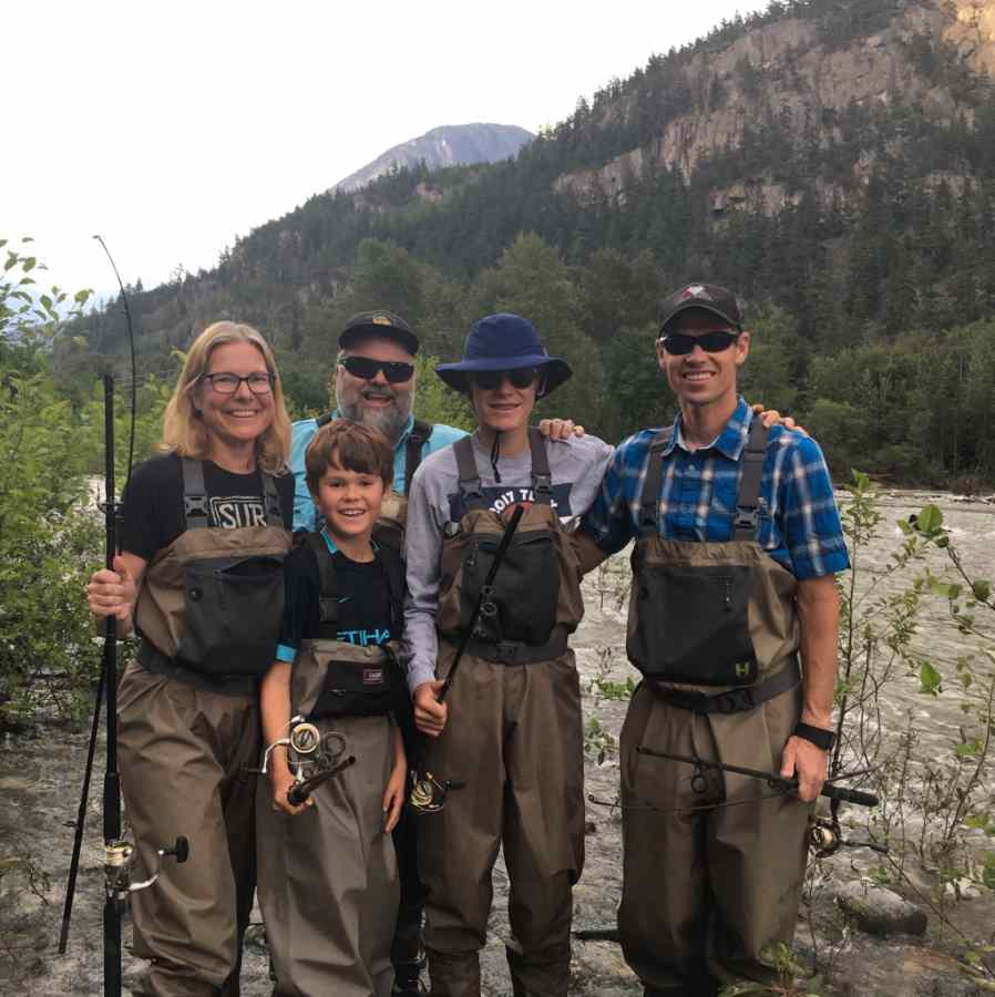 Family fishing trips in Whistler BC