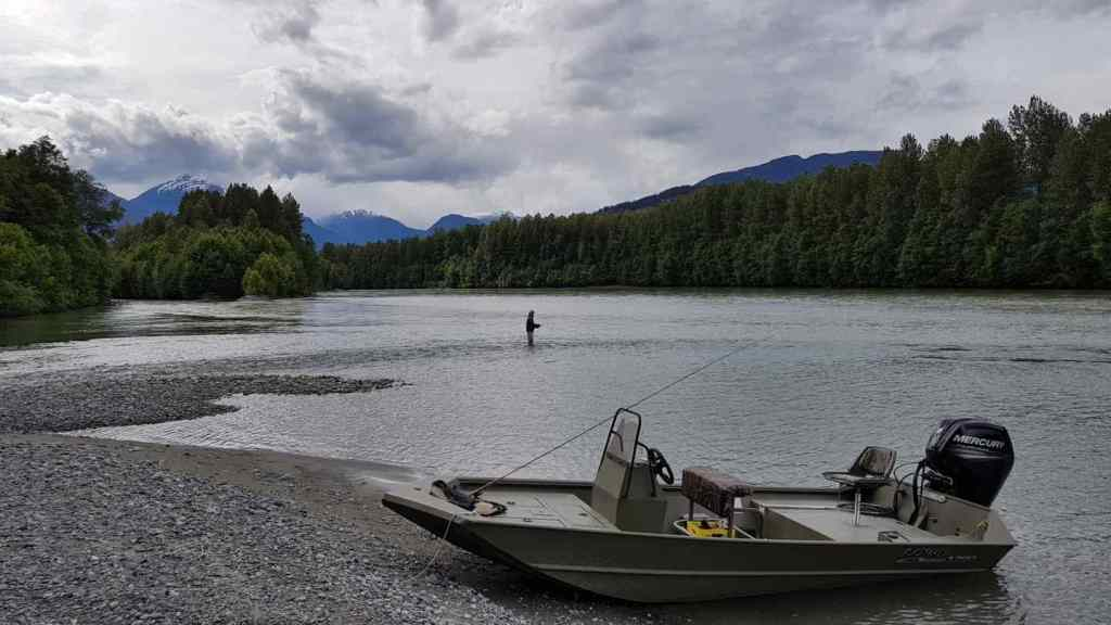 Remote fly fishing trips in Whistler BC Canada
