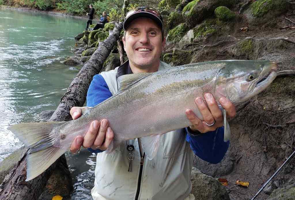 Coho Salmon fishing in BC