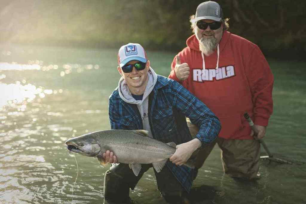 Guided freshwater Salmon fishing trips in BC