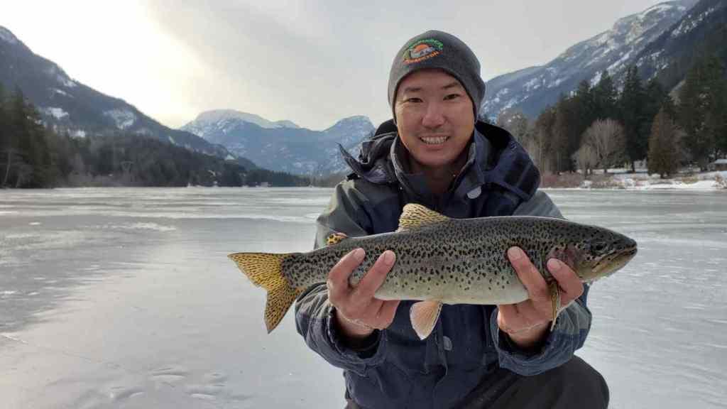 2019 Ice Fishing Report Whistler Pemberton British Columbia Canada