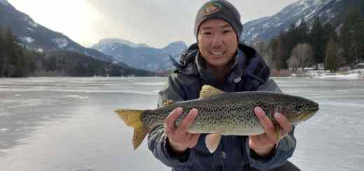 2019 Ice Fishing Report Whistler Pemberton British Columbia Canada