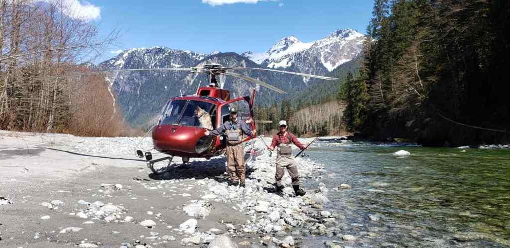 Best Heli Fishing in Canada