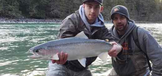 Steelhead Fishing trips in British Columbia Canada