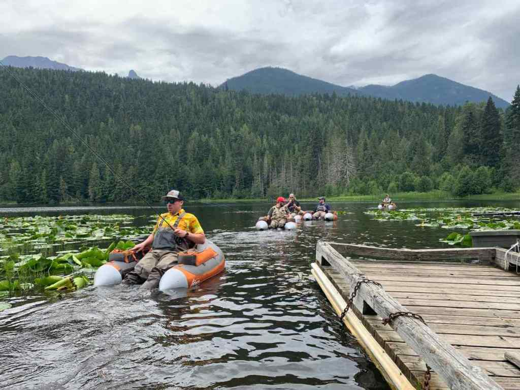 Float Tube Fly Fishing Trips in Canada