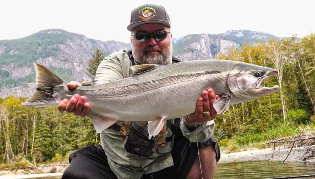 Best coho salmon fishing in Canada