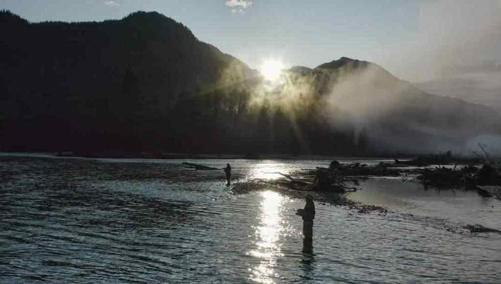 Salmon fishing rivers in BC