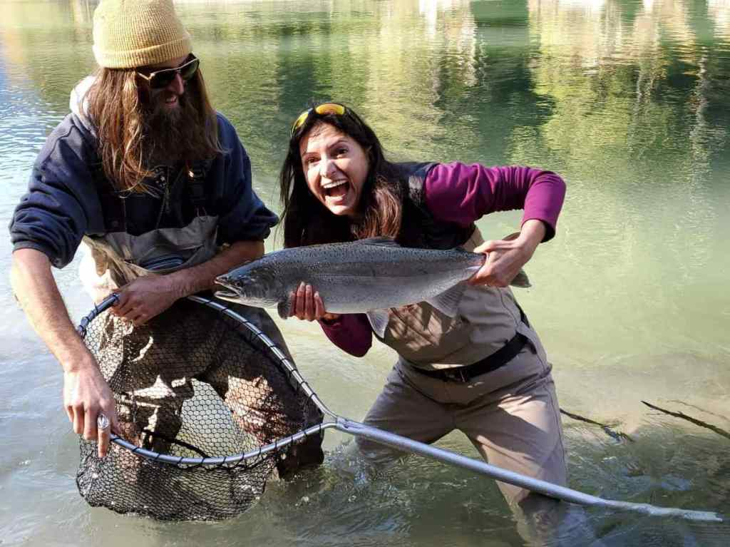best coho salmon fishing in BC