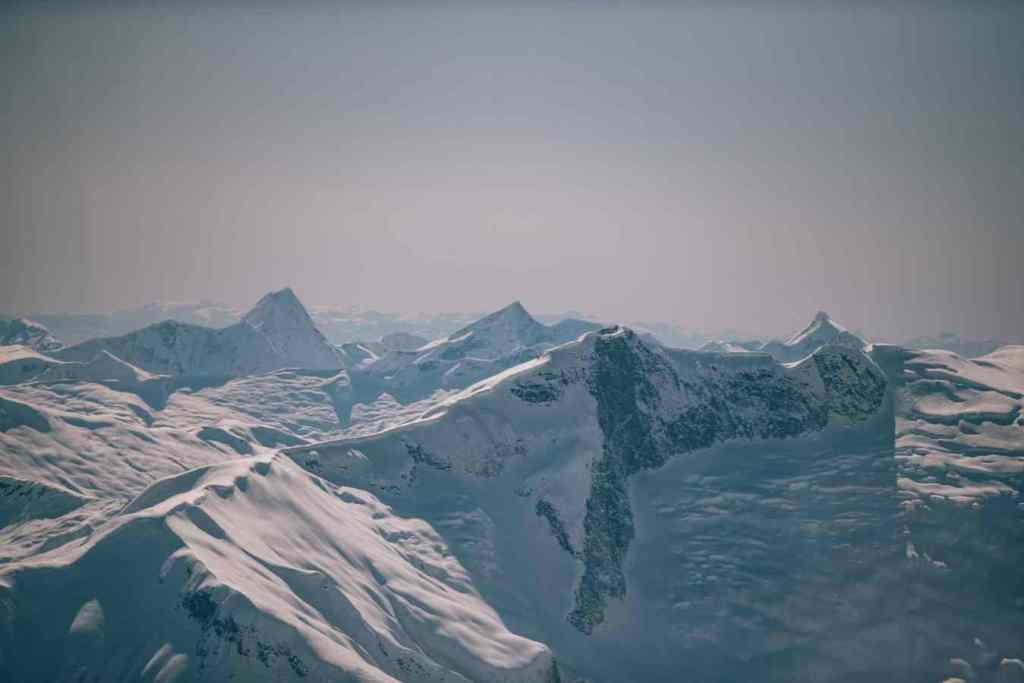 Coastal Mountains of British Columbia Canada