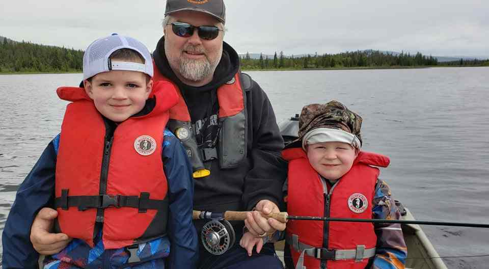 Family fishing trips in BC
