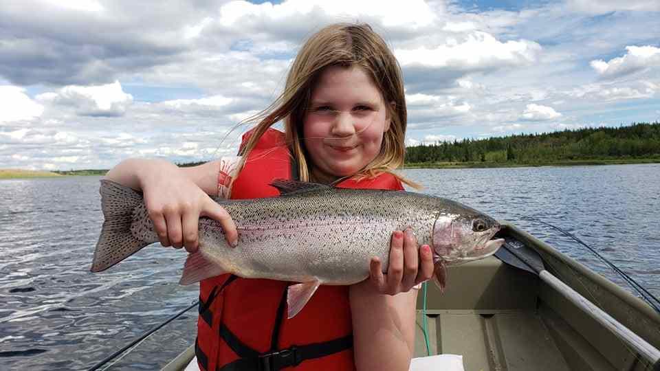 Kids fishing trips in BC