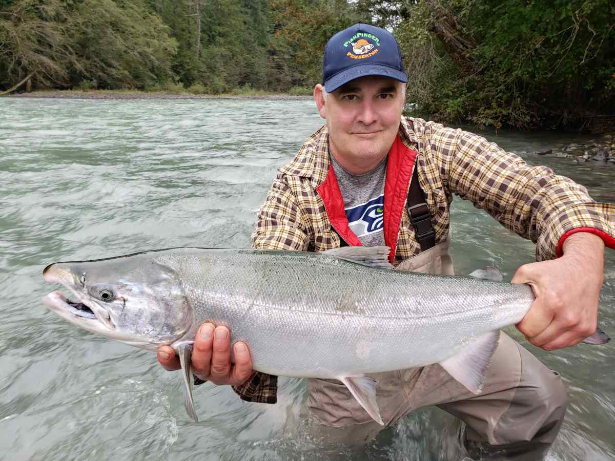 Coho Salmon Fishing British Columbia