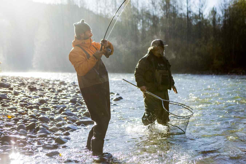 Coho Salmon fishing guides