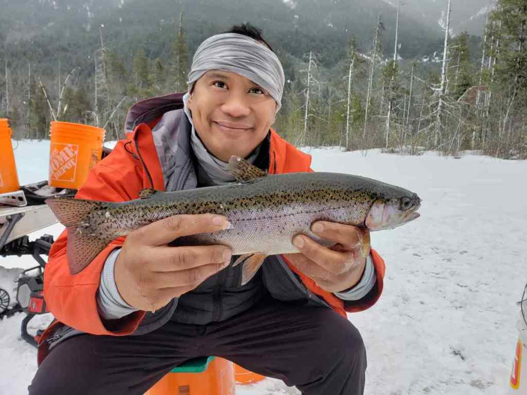 How to catch Trout while Ice Fishing