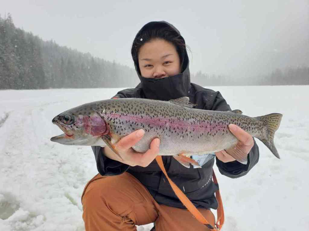 best ice fishing in BC Canada