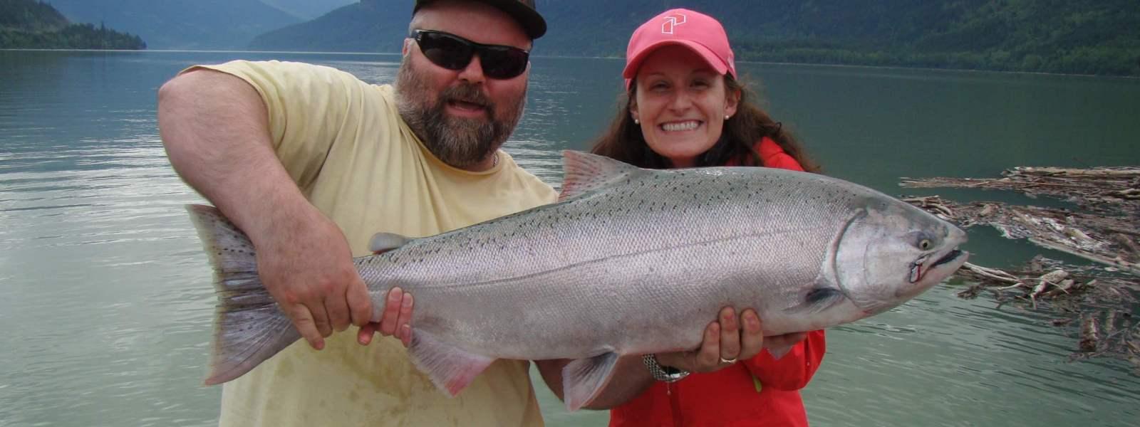 Salmon Fishing in Whistler BC