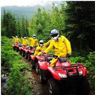 ATV Tours in Pemberton BC