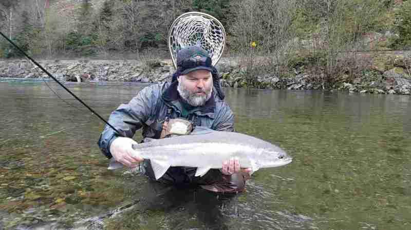 Steelhead Fly Fishing Trips in Squamish BC Canada