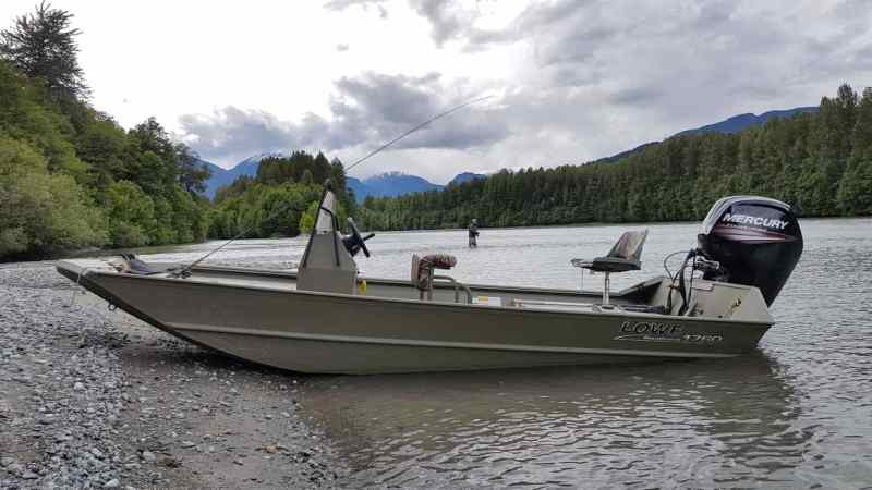 Jet boat Fishing Trips in BC Canada