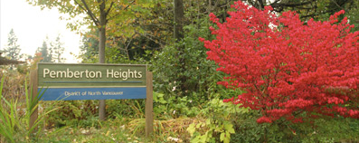 Pemberton Heights Gateway Sign