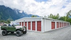 Pemberton Self Storage Jeep
