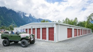 Pemberton Self Storage Jeep