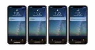iphone bildirim gizleme 3