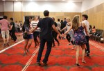One of our students from Colorado compares it to the square dancing in her home city. Ceilidhs are similarly lively events but involve a wide range of traditional dances.