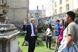 Nick takes us to the oldest church in Cambridge.