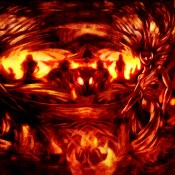 Emergence b fire Painted