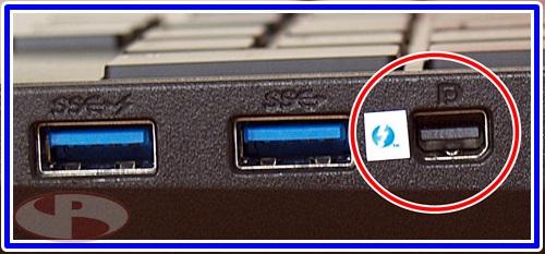 Thunderbolt/Display combo port