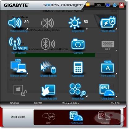 Gigabyte SmartManager
