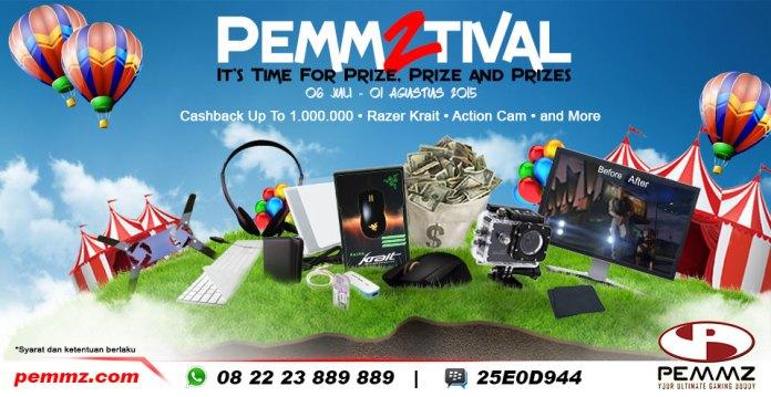 Pemmztival, karnaval gaming dengan banyak hadiah