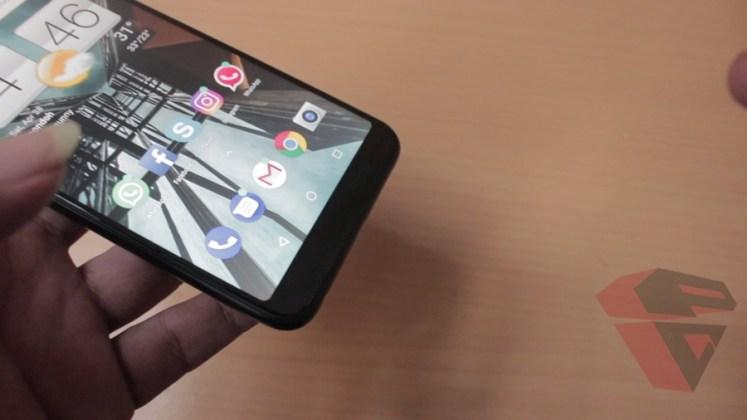 review Zenfone Max Pro M1 - Design - bottom frame