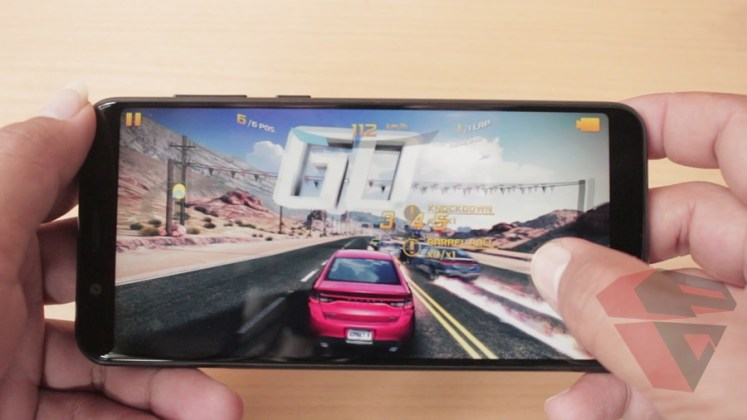 review Zenfone Max Pro M1 - LCD - Outdoor gaming