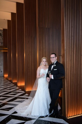 Jenn and Dan - Ritz Carlton Chicago Lobby