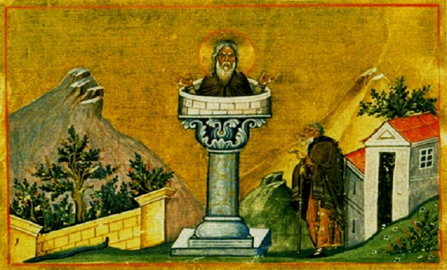Αποτέλεσμα εικόνας για Όσιος Δανιήλ ο Στυλίτης