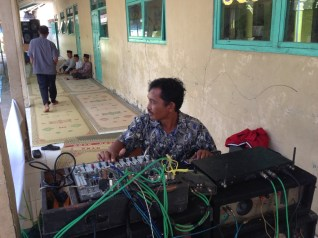 Tim Sound Marki di Pengajian Akbar WR. Lasiman 3