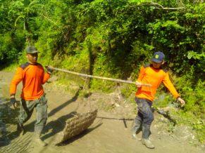 Bantuan KOKAM Gunungkidul di Bukit Trosari