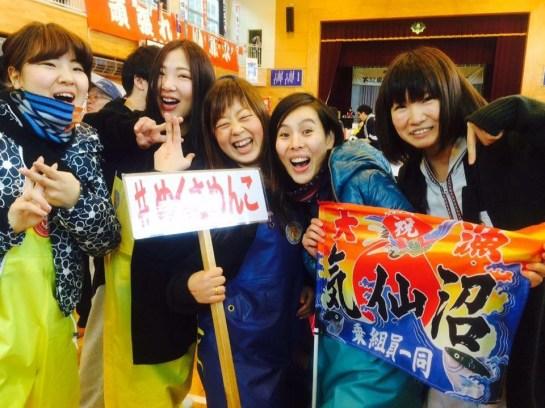 2015綱引き大会_Pen.turn女子(ペンターン女子)