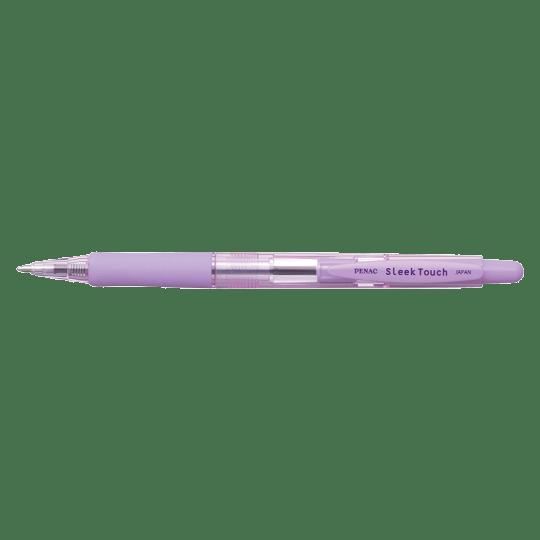 PENAC Japan - Kugelschreiber SLEEK TOUCH PASTELL pastellviolett