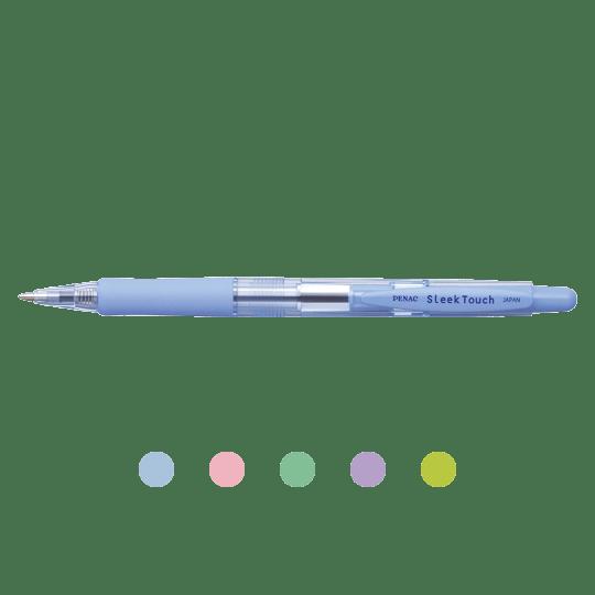 PENAC Japan - Kugelschreiber SLEEK TOUCH PASTELL Übersicht