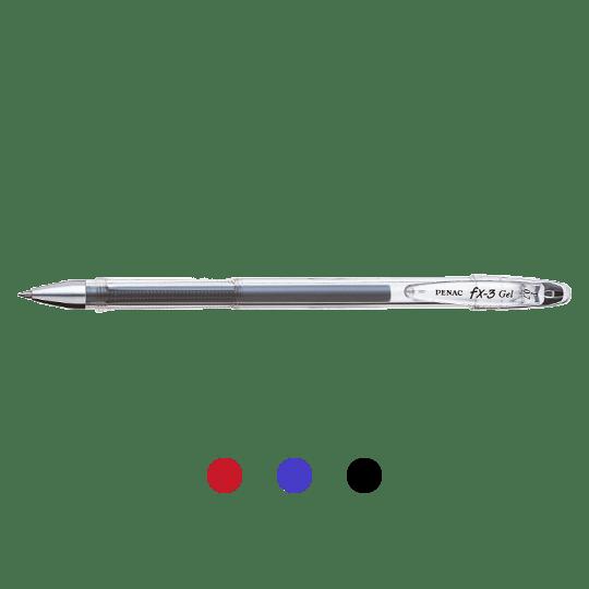 PENAC Japan - Gelschreiber FX-3 Übersicht
