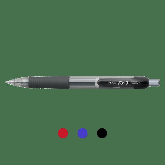 PENAC Japan - Gelschreiber FX-7 Übersicht