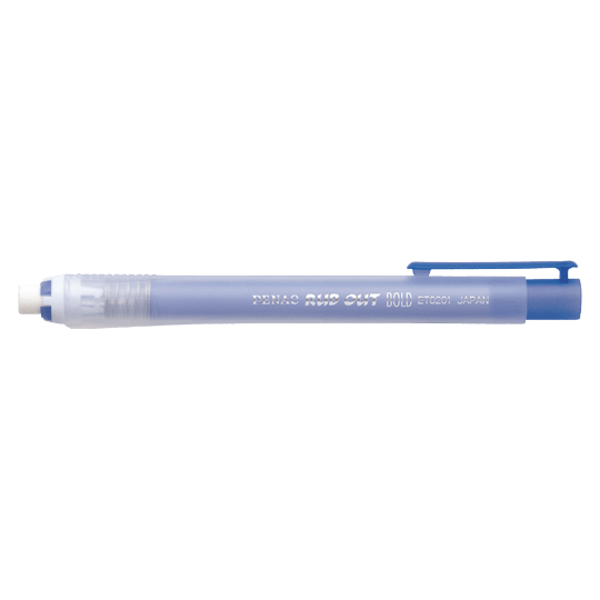 PENAC Japan - Radierer RUB OUT BOLD blau